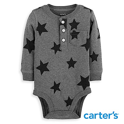 Carter s 星星印圖開釦包屁衣