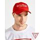 GUESS x J Balvin聯名 彩色刺繡可調節鴨舌帽-紅色 原價890 product thumbnail 1