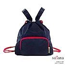 satana - MammaMia Mini 束口後背包 - 黑色