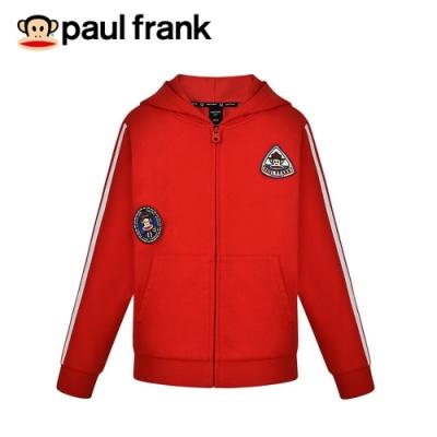 paul frank 猴猴童軍布章連帽純棉外套(童)