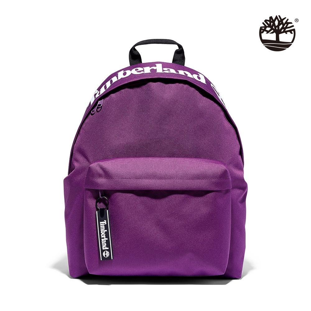 Timberland 中性紫色休閒雙肩後背包|A2HDC