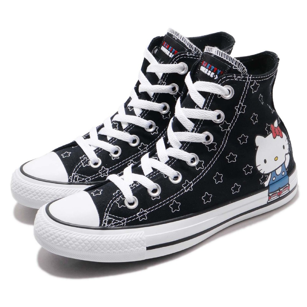 Converse 休閒鞋 Hello Kitty 凱蒂貓 女鞋