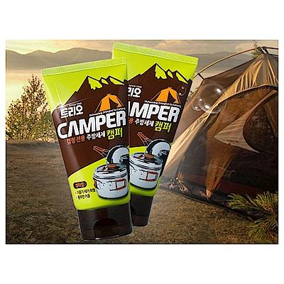 即期品-韓國AK-露營用廚具清潔劑120mlX10