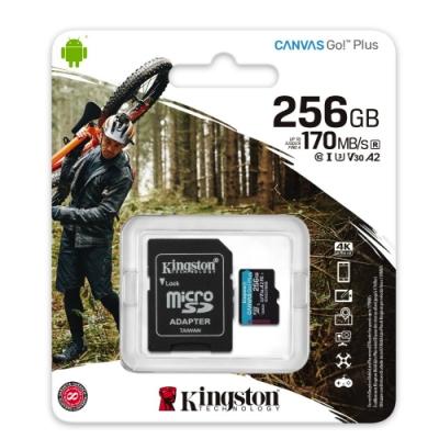 金士頓 SDCG3 MicroSDXC 170MB 256G U3 V30 A2 記憶卡