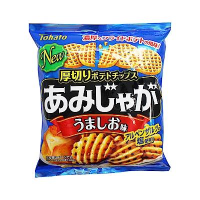 東鳩 厚切網狀洋芋片-鹽味 (60g)