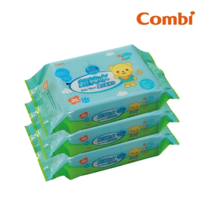 【Combi】Malo 超純水嬰兒柔濕巾20抽促銷組