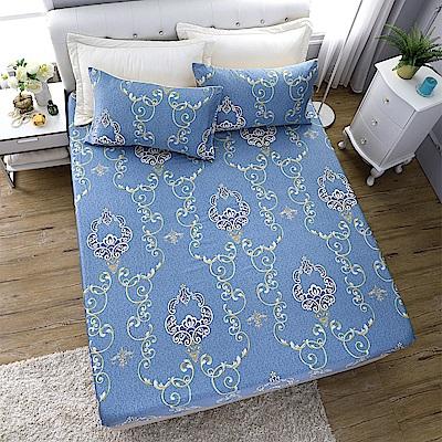 岱思夢 加大100%天絲床包枕套三件組 繁花