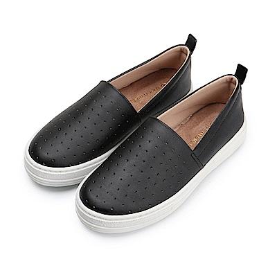 BuyGlasses 點點點普普風懶人鞋-黑