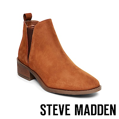 STEVE MADDEN-DANTE 真皮雀爾喜靴-咖啡