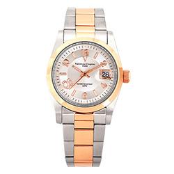 Valentino Coupeau 范倫鐵諾 古柏 都會數字腕錶 (半玫/銀面/男錶)