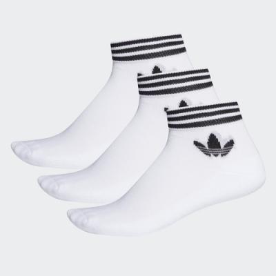 adidas ADICOLOR 腳踝襪 3 雙入 男/女 EE1152
