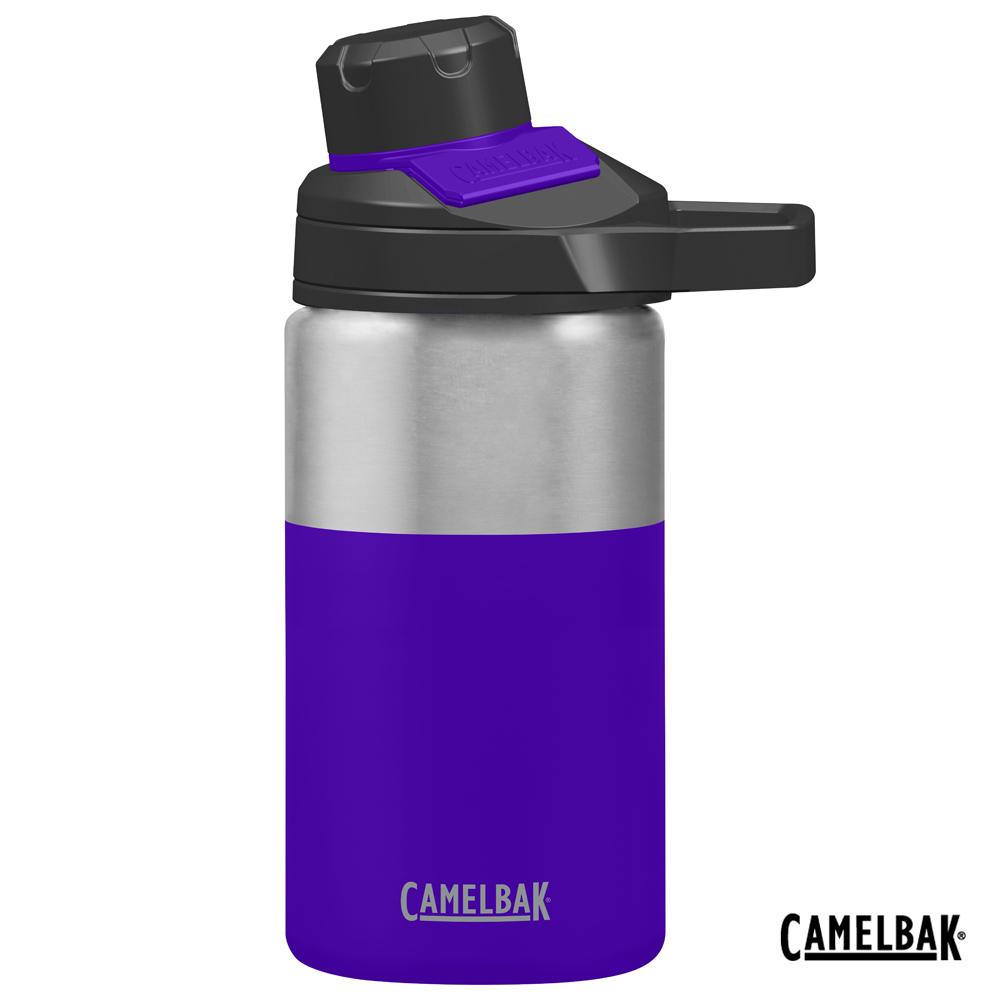 【美國 CamelBak】350ml Chute Mag戶外運動保冰/溫水瓶 鸢尾花紫