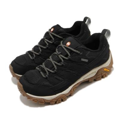 Merrell 戶外鞋 Moab 2 GTX 女鞋 登山 越野 防潑水 避震氣墊 耐磨大底 黑 棕 ML035512