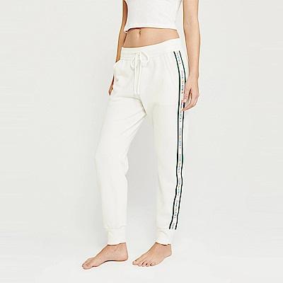 麋鹿 AF A&F 經典標誌設計長棉褲(女)-白色