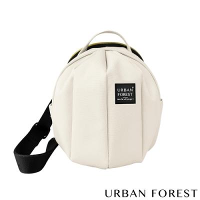 URBAN FOREST都市之森 甲蟲-迷你斜背包/斜肩包 象牙白