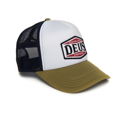 Deus American Twin Trucker 棒球帽 - 綠(男)