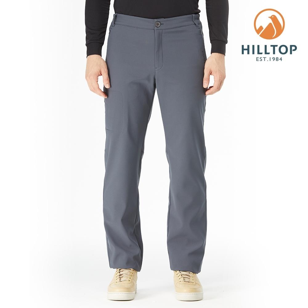 【hilltop山頂鳥】男款超潑水保暖長褲PH31XMM0ECK0深灰色
