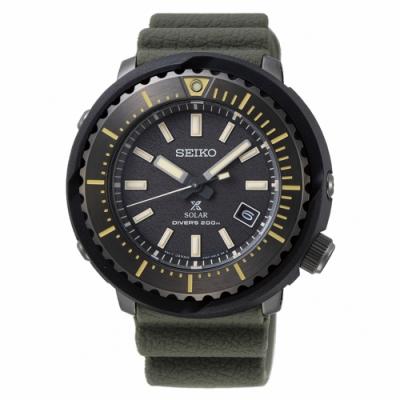 SEIKO精工 PROSPEX STREET太陽能200米潛水腕錶(SNE543P1)