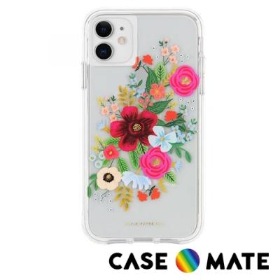 美國 CASE●MATE Rifle Paper Co. 限量聯名款 iPhone 11 防摔手機保護殼 - 玫瑰花束
