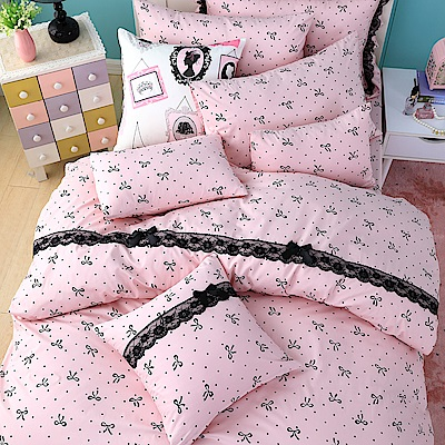OLIVIA   蝶戀  標準單人床包美式枕套兩件組
