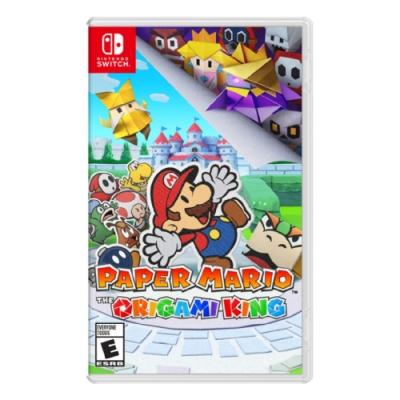 [滿件出貨] 任天堂 Nintendo Switch《紙片瑪利歐:摺紙國王》中文版 台灣公司貨