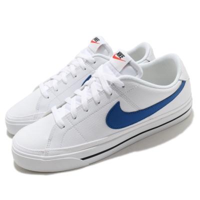 Nike 休閒鞋 Court Legacy 運動 男鞋 基本款 簡約 舒適 球鞋 穿搭 白 藍 CU4150101