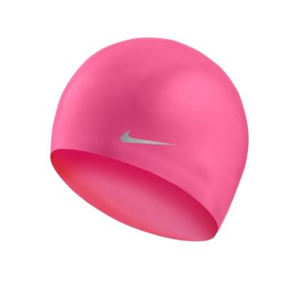 NIKE 兒童 泳帽 矽膠 粉 TESS0106-678 (男女童泳帽)