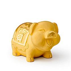MANSTYLE 福寶豬 黃金擺件 (約4錢)