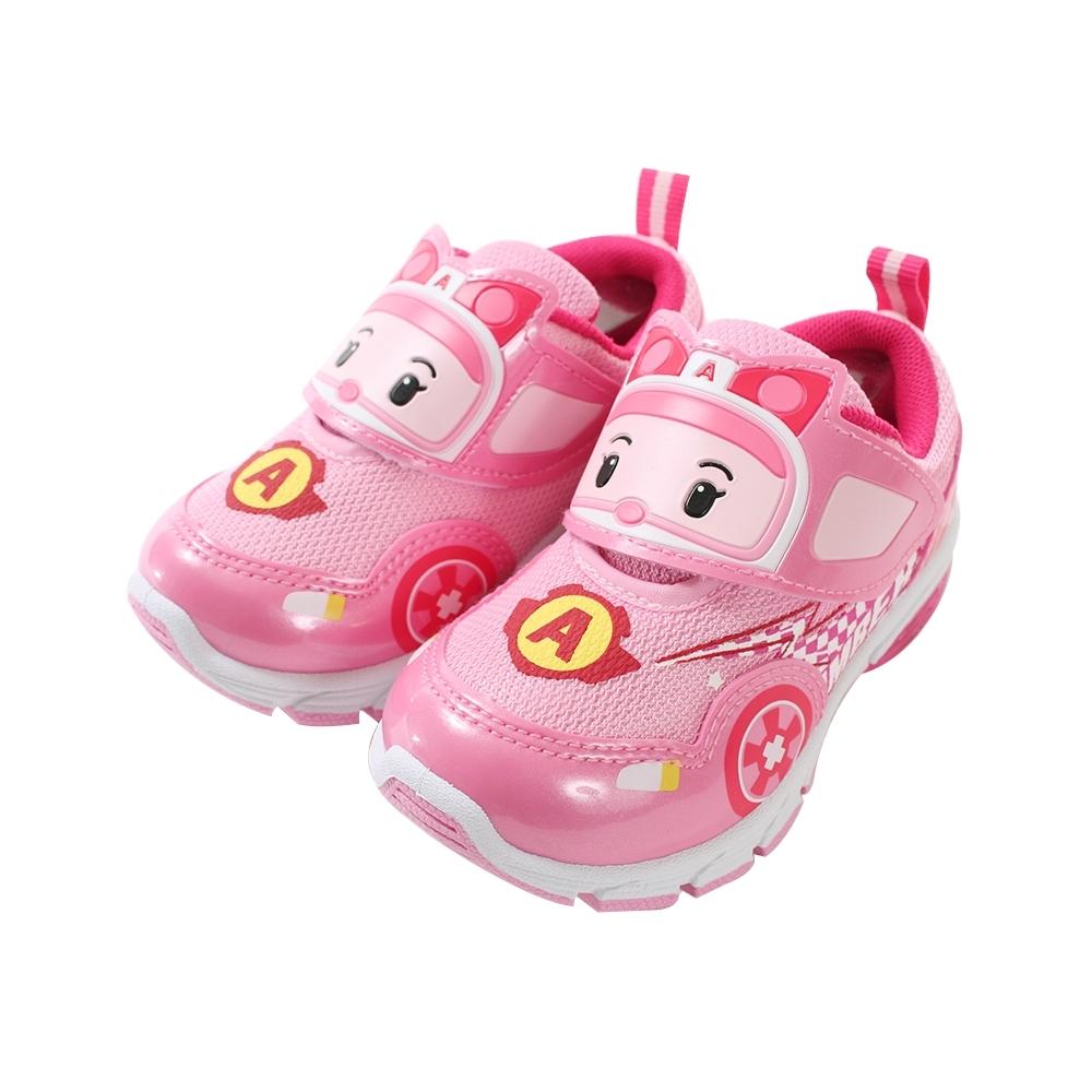 女童台灣製POLI安寶款閃燈運動鞋 sa91223 魔法Baby