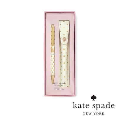 KATE SPADE 經典金點精裝多功能筆/ 觸控筆/ 原子筆 Stylus Pen