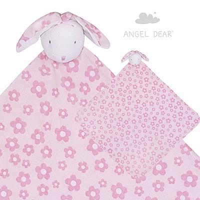 美國 Angel Dear 大頭動物嬰兒毛毯禮盒版 (兔寶寶系列)