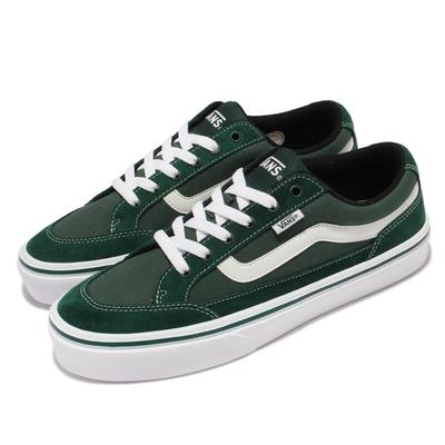 Vans 休閒鞋 V3830SC Falken 男鞋 麂皮 帆布 異材質拼接 輕量 穿搭推薦 綠 白 5934010006