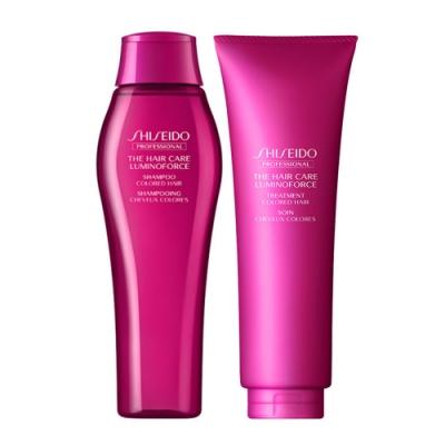 *SHISEIDO資生堂 靚色修護洗髮乳+護髮乳(250ml+250ml)