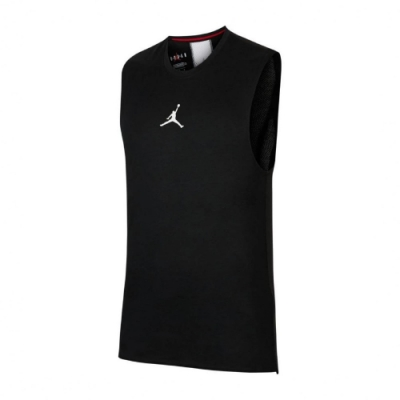 Nike 背心 Jordan Training Top 男款 喬丹 飛人 健身 重訓 運動 吸濕排汗 黑 白 CU1025010