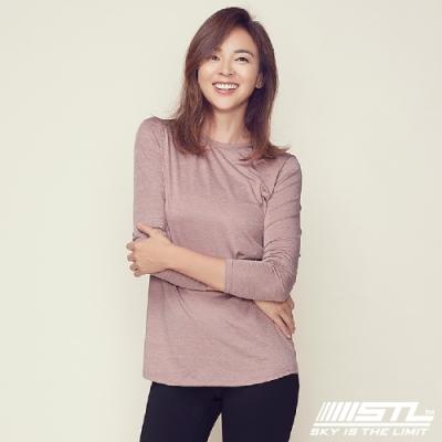 STL Essence Long Sleeve 韓國運動機能長袖上衣 本質乾燥玫瑰