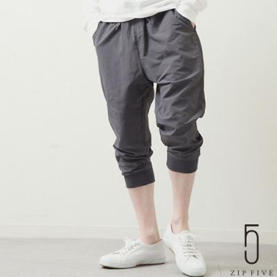 ZIP日本男裝 尼龍七分束口褲 防潑水加工 (11色)