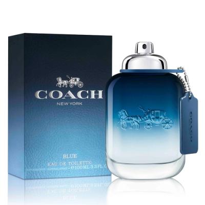 Coach BLUE時尚藍調男性淡香水100ml