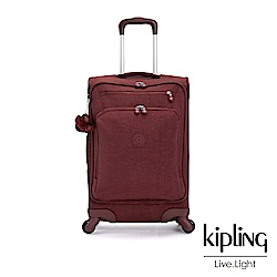 Kipling 醇熟酒紅21吋登機箱-YOURI SPIN 55