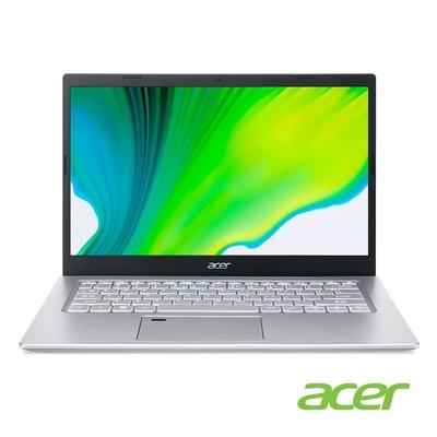 (福利品)Acer A514-54-58KP 14吋筆電(i5-1135G7/8G/512G SSD/Aspire 5/銀)