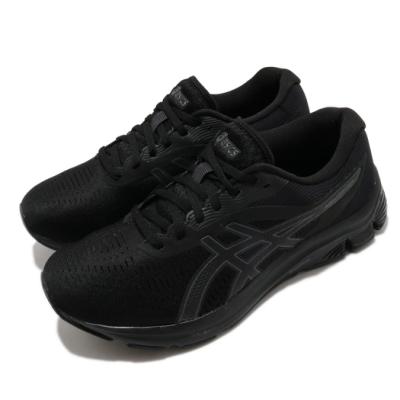 Asics 慢跑鞋 Gel-Pulse 12 超寬楦 男鞋 亞瑟士 路跑 緩衝 避震 輕量 亞瑟膠 黑 1011A845002