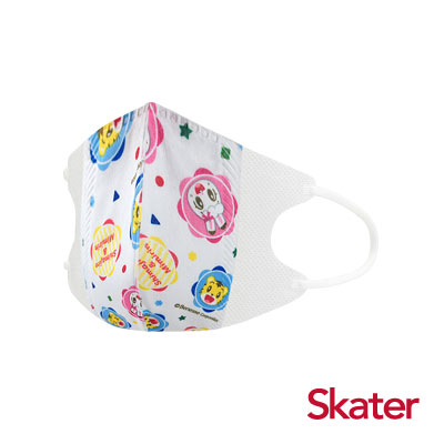 Skater兒童立體口罩-琪琪與巧虎(10入/包)共6包