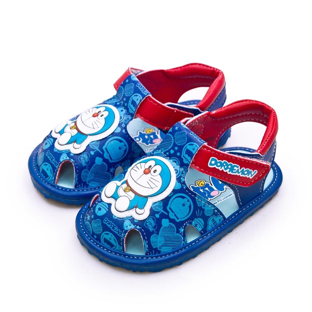 Doraemon 哆啦A夢 兒童寶寶涼鞋 藍 90696