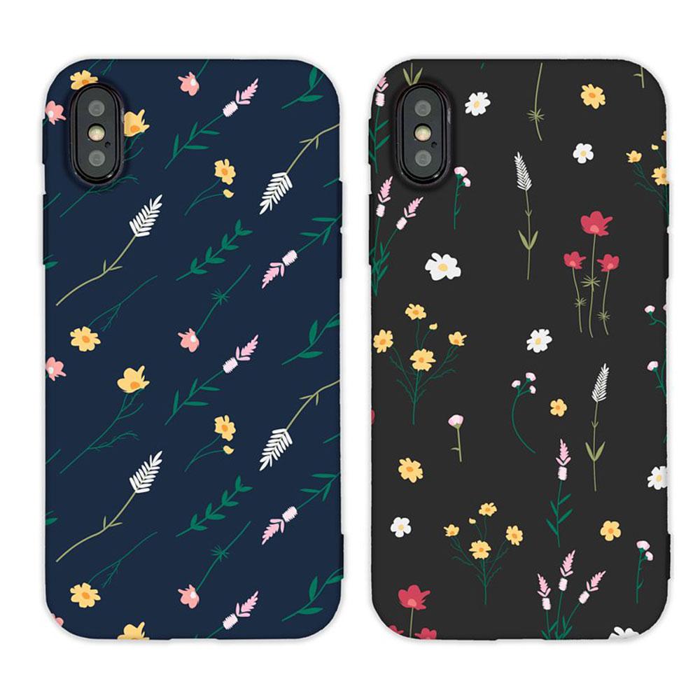 【TOYSELECT】iPhone X/Xs 小雛菊碎花手機殼