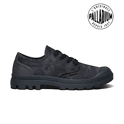Palladium Pampa Oxford-男-黑迷彩