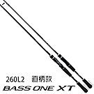 【SHIMANO】BASS ONE XT 260L2 路亞竿