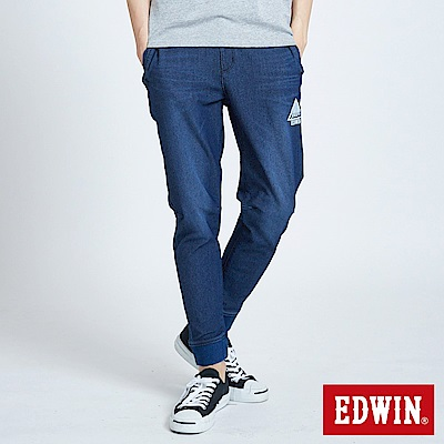 EDWIN JERSEYS EJ6運動束口涼感迦績褲-男-洗石綠