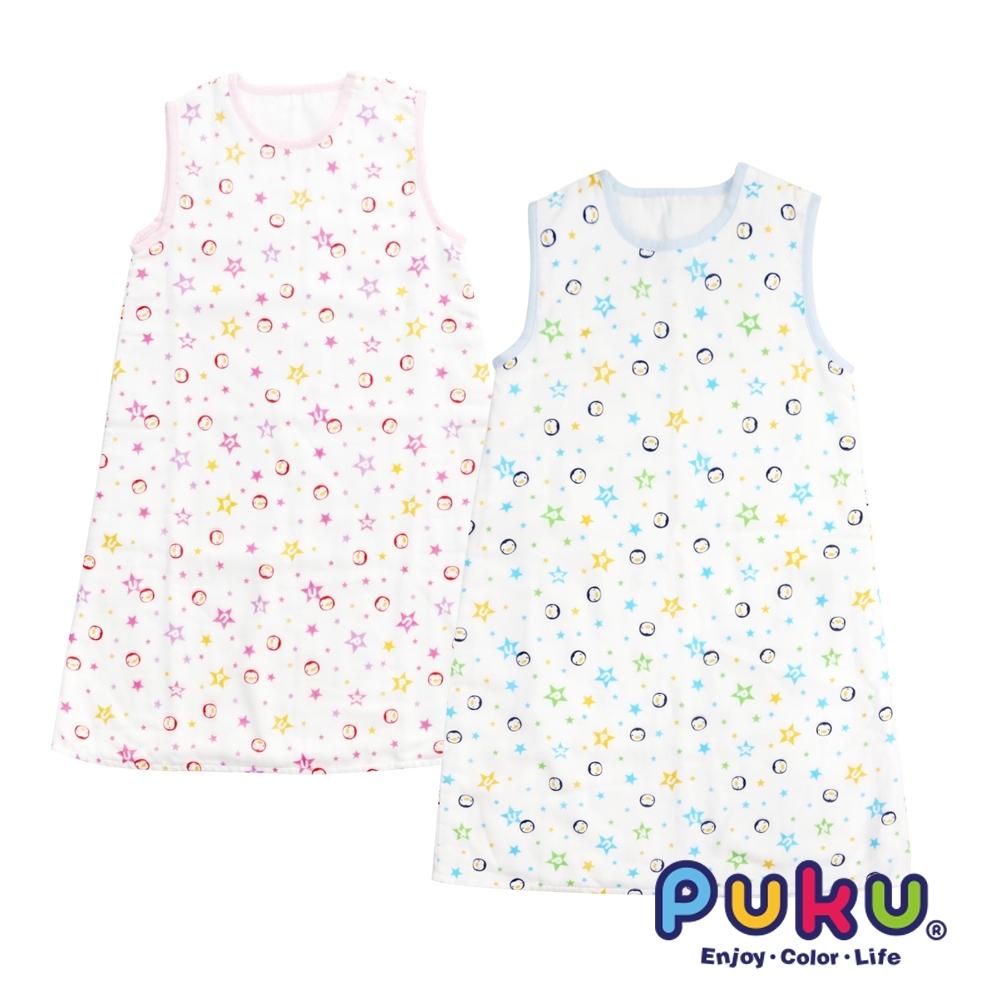 【PUKU】純棉紗布防踢睡袍-F