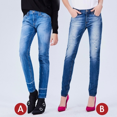 [時時樂限定]BRAPPERS 女款 小直筒版型八分褲(多款選)
