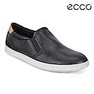 ECCO LEISURE 輕巧簡約套入式懶人鞋 女-黑/裸色
