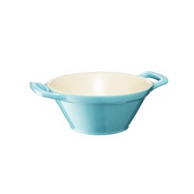 LE CREUSET 瓷器卡蘇雷碗 (加勒比海藍)